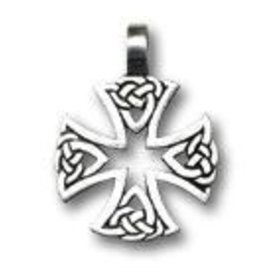 Celtic Cross Green Legend Choker