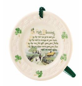 Belleek Irish Blessing Ornament