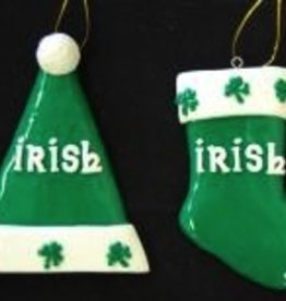 Irish Stocking Ornament