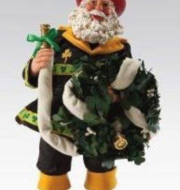 To The Rescue Irish Fireman Santa