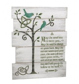May the Road Rise Wall Plaque