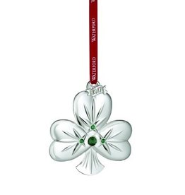Waterford Shamrock Ornament 2017