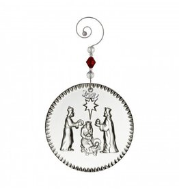 Waterford Nativity Three Wise Men Ornament 2017
