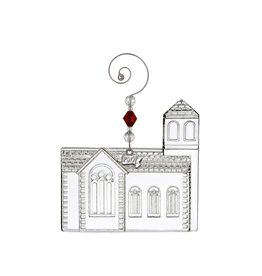 Waterford Dimensional Church Ornament 2017