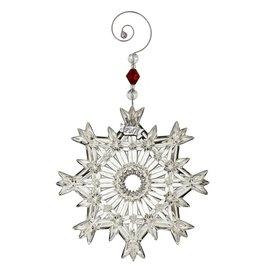 Waterford Annual Snowcrystal Pierced Ornament 2017