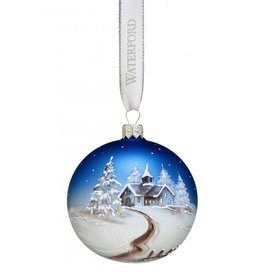 Waterford Handpainted Scene Ball Ornament 2017