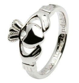 Ladies Claddagh Comfort Fit Ring