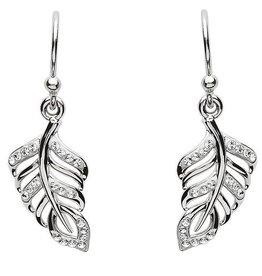 S/S Swarovski Leaf Earrings