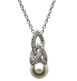 S/S Swarovski Trinity Pearl Pendant