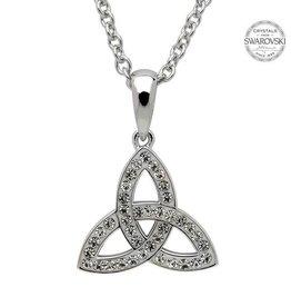S/S Swarovski Small Trinity Necklace