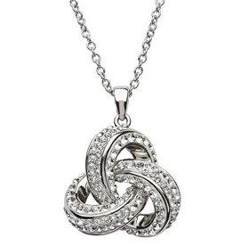 S/S Swarovski Trinity Necklace