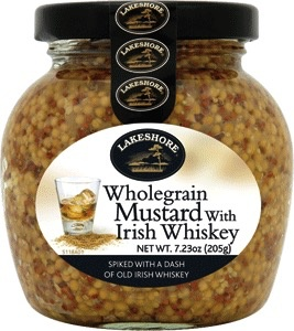 Wholegrain Mustard with Whiskey