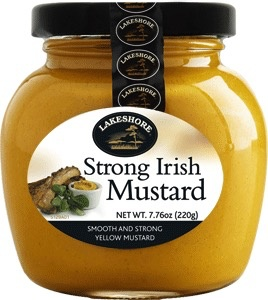 Lakeshore Strong Irish Mustard (7.8oz)