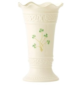 "Belleek Tara 10"" Vase"