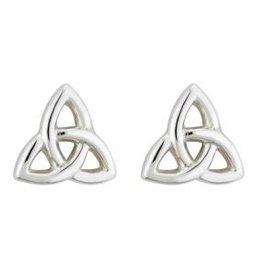 S/S Tiny Trinity Knot Stud Earrings