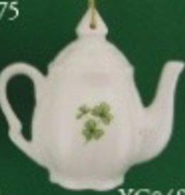 Shamrock Teapot Ornament