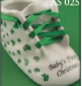 """Baby's 1st Christmas"" Shoe Ornament"