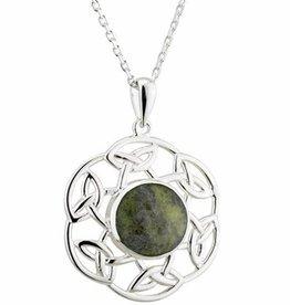 S/S Connemara Marble Pendant
