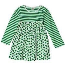 Shamrock Striped Dress