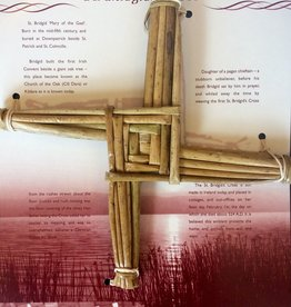 Naomh Padraig Handcrafts St. Brigid's Cross - Large