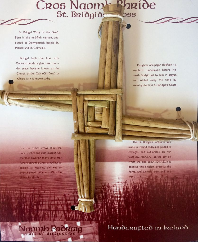 Naomh Padraig Handcrafts St. Brigid's Cross - Large