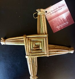 Naomh Padraig Handcrafts St. Brigid's Cross - Medium