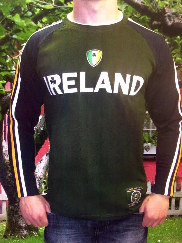 RETRO IRISH Double Sleeve Tee