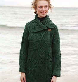 Aran Woollen Mills Unlimited Patchwork Coat