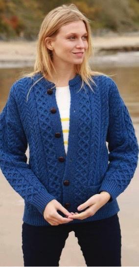 Aran Woollen Mills Unlimited Aran Lumber Jacket
