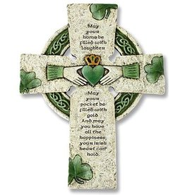 Celtic Cross - Irish Home Blessing