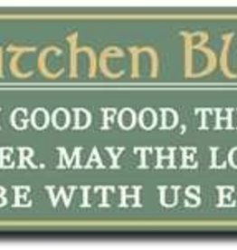 My Word! Irish Kitchen Blessing 5x16 in.