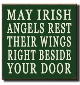 My Word! May Irish Angels Rest… 7.25x7.25 in.