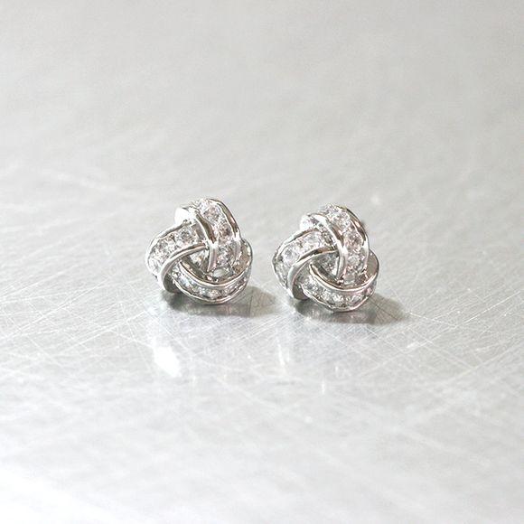 S/S Swarovski Trinity Earrings