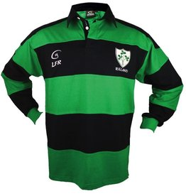 Kid's Long Sleeve Striped Rugby