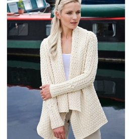 Ladies Knitted Glenross Waterfall Cardigan