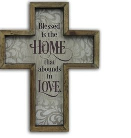 Home Framed Wall Cross
