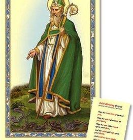 St. Patrick Prayer Card
