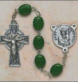 Shamrock Oval St. Patrick Rosary