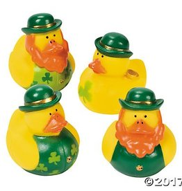 St. Patrick's Day Rubber Ducky