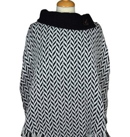 Branigan Weavers Collared Poncho