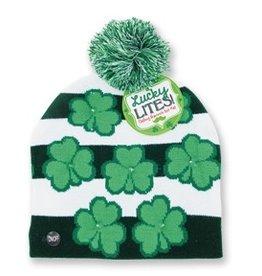 DM Merchandising Shamrock Light Up Knitted Hat