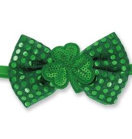 DM Merchandising Green Sequin Shamrock Headband