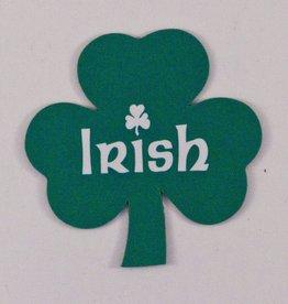 """IRISH Shamrock Magnet - 2"""""""