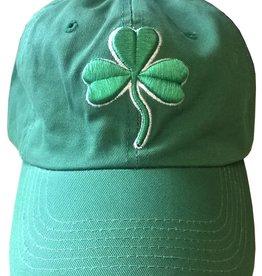 Green Baseball Cap w/ Shamrock