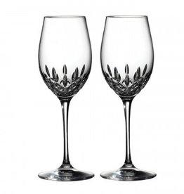Waterford Lismore Essence Wine 14oz Pair