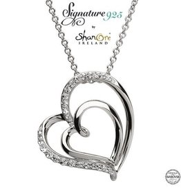 S/S SW Heart Necklace