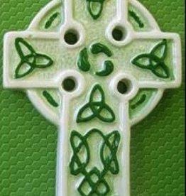 Mini Ceramic Celtic Cross