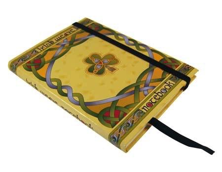 Irish Weave Notebook