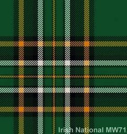 House of Edgar Irish National Tartan Tie