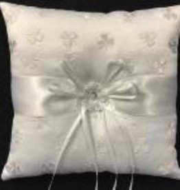 Shamrock Wedding Pillow